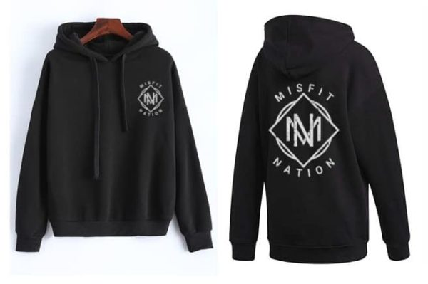 Misfit Nation Hooded Sweatshirt