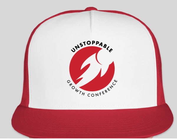 Unstoppable Trucker Cap Red