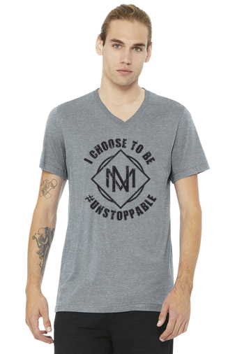 """I Choose to Be Unstoppable"" Misfit Nation T-Shirt"